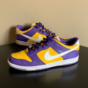 Nike Dunk Low Los Angeles Lakers